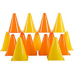 Hey! Play! Traffic Safety Cones, Set of 15