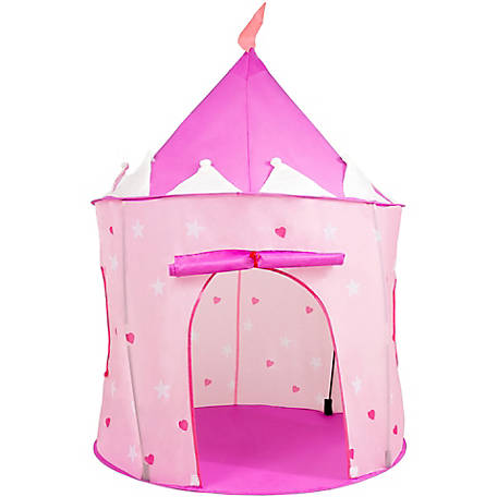 Hey! Play! Girl's Princess Castle Pop Up Play Tent