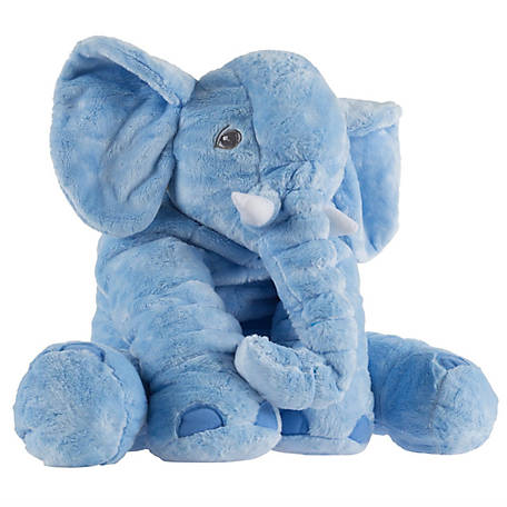 Happy Trails Elephant Stuffed Animal Pillow Friend, M400033