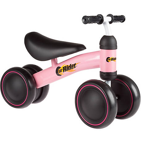 Lil' Rider Mini Trike Ride On with Easy Grip Handles, Enclosed-Wheels and No Pedals