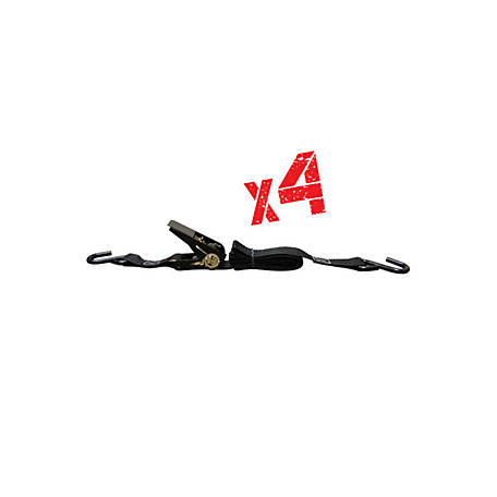 X-Stand Ratchet Strap 8 in. Length, 4 Pack, XASA980-4