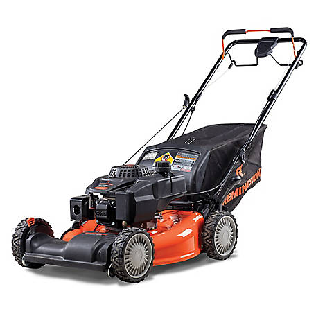 Remington RM410 Pioneer 21In 159CC 3-In-1 All Wheel Drive Walk Mower, 12A-K2M5883