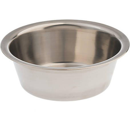 Pet Zone Classic Stainless Steel Bowl, 8 Cup