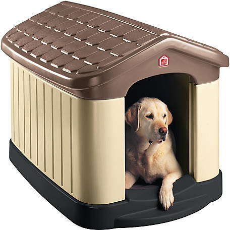 Pet Zone Tuff-N-Rugged Durable Plastic Dog House at Tractor Supply Co