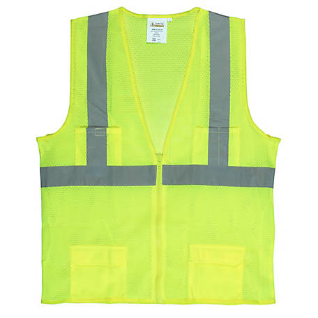 Cordova Class II Rated Safety Vest with 2 in. Reflective Tape
