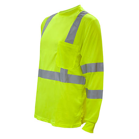 Cordova Class 3 Cor-Brite Hi-Vis Orange Long Sleeve Shirt