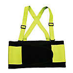 Cordova Hi-Vis Lime Adjustable Back Support Belt