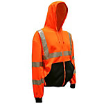 Cordova Hi-Vis Orange Class 3 Cor-Brite Hooded Sweatshirt