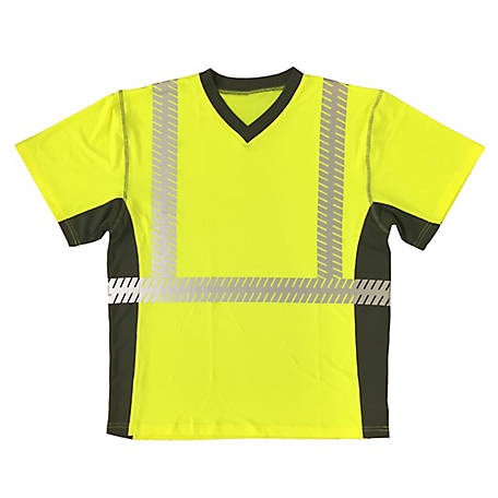 Cordova Class 2 Cor-Brite Ultralight Lime Comfort Stretch T-Shirt
