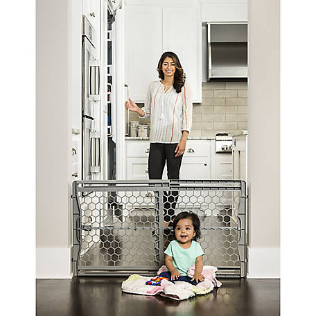 Regalo Easy Fit Adjustable Baby Safety Gate, 26-42 in. wide