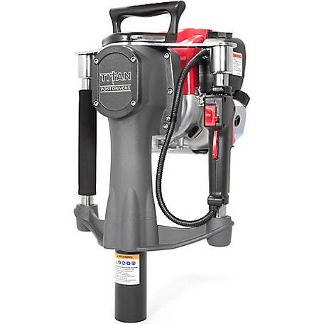 Titan Contractor Series PGD2000 4-Stroke Gas-Powered Post Driver