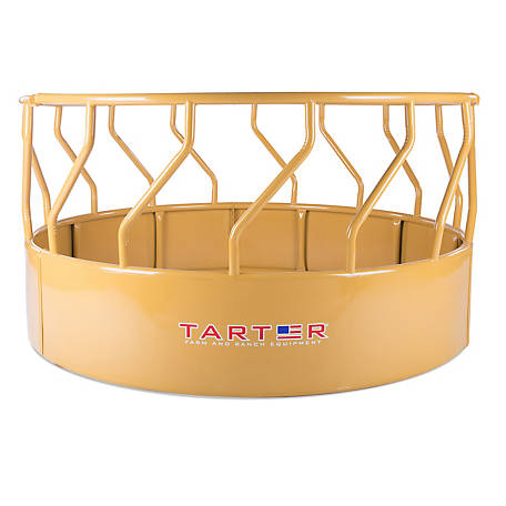 Tarter TITAN TALL BALE FEEDER 3-Piece Super Bale Feeder Yellow, TBF
