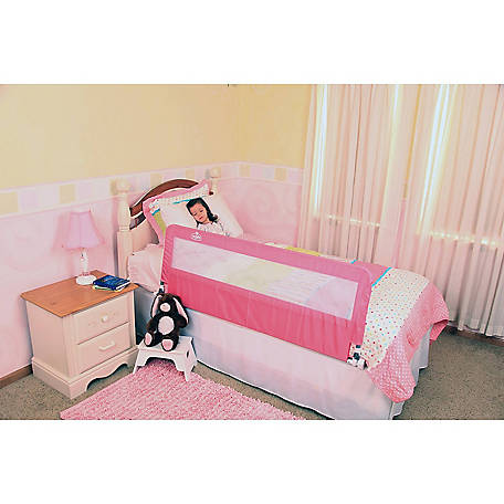 Regalo Pink Hide-Away Extra Long Bed Rail