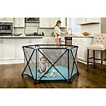 Regalo My Play 6-Panel Portable Play Yard, Aqua