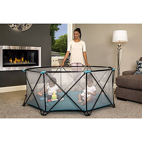 Regalo My Play 8-Panel Portable Play Yard, Teal