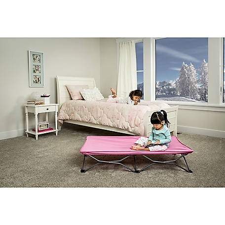 Regalo My Cot Pink Portable Toddler Bed