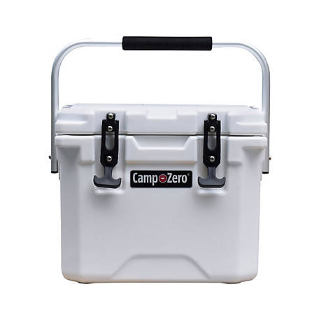 Camp-Zero 10L Premium Cooler, White
