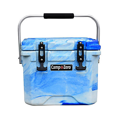 Camp-Zero 10L Premium Cooler, Blue Swirl