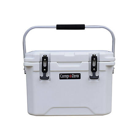 Camp-Zero 20L Premium Cooler, White