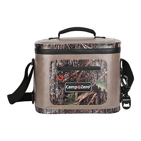 Camp-Zero 12-Can Soft-Sided Premium Cooler, Beige/Camo