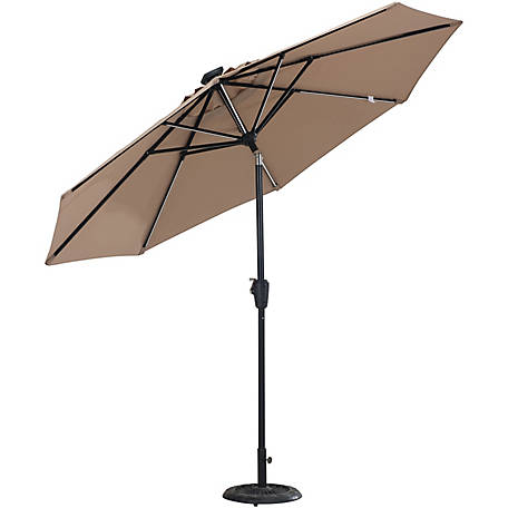 Sunjoy Aluminum Umbrella