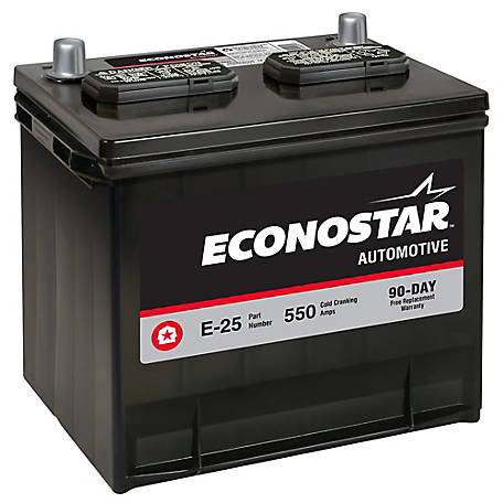 Econostar Automotive Battery, E-25