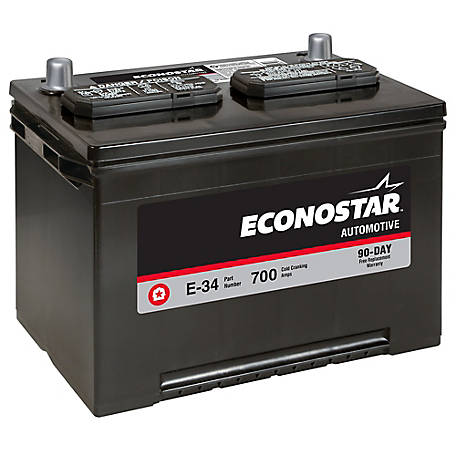 Econostar Automotive Battery, E-34