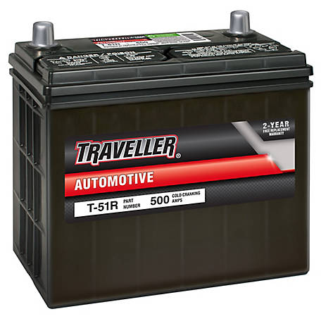Traveller Automotive Battery T-51R, T-51R