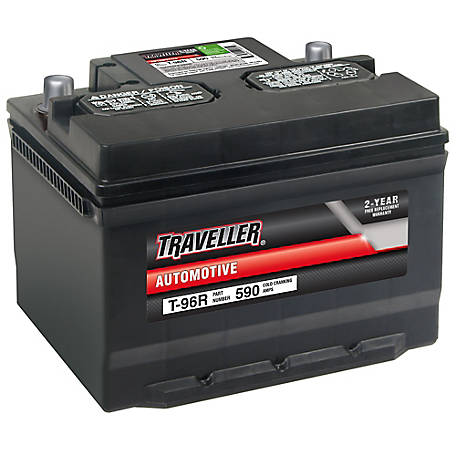 Traveller Automotive Battery, T-96R