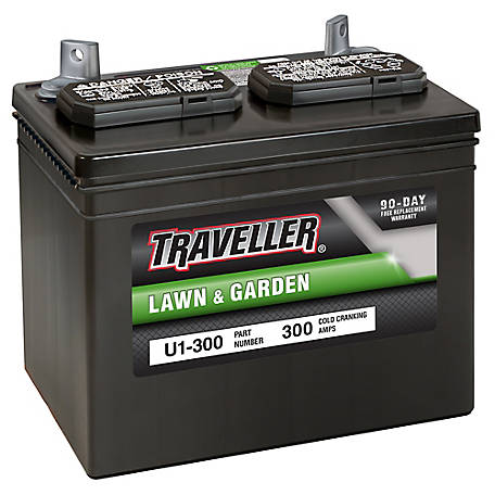 Traveller Rider Mower Battery, U1-300