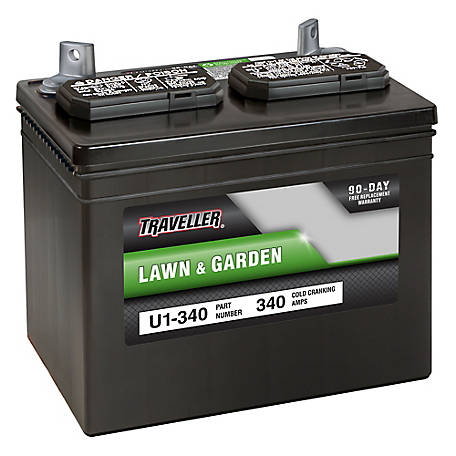 Traveller Rider Mower Battery, U1-340