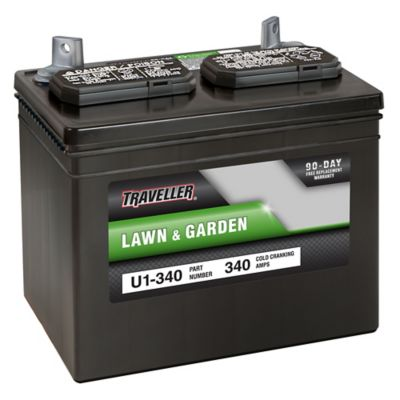Traveller Rider Mower Battery, U1-340 at Tractor Supply Co