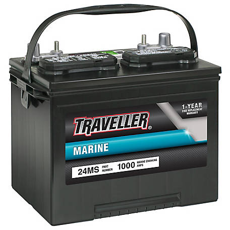 Traveller Marine Battery, 24MS at Tractor Supply Co