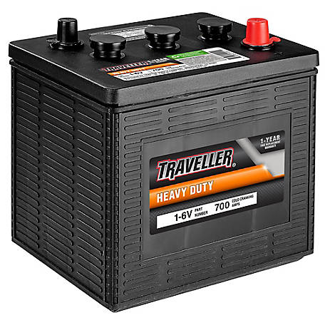 Traveller Heavy-Duty Battery, 1-6V