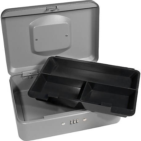 Barska Medium Cash Box with Combination Lock, CB11786