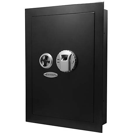Barska Biometric Wall Safe, Right Opening