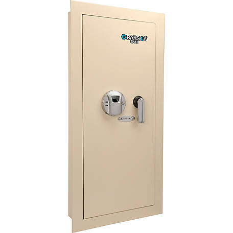 Barska Large Biometric Wall Safe, Left Opening