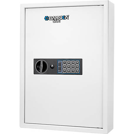 Barska 100 Key Cabinet Digital Wall Safe