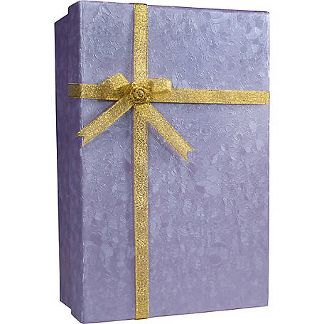 Barska Gift Box Lock Box with Key Lock Purple, CB11796
