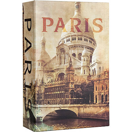 Barska Paris Book Lock Box with Combination Lock, CB12362