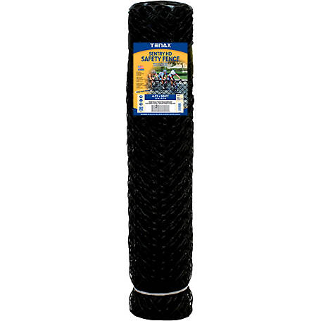 Tenax Sentry HD 4 ft. x 50 ft., Black, 64315809