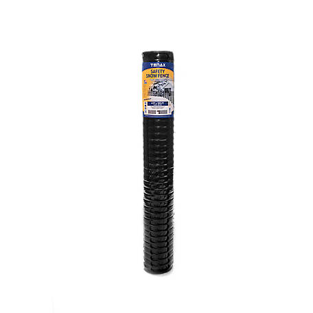 Tenax Safety Snow Fence 4 Ft X 100 Ft Black 90600109
