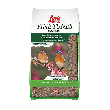 Lyric Fine Tunes No Waste Bird Seed Mix, 15 lb.