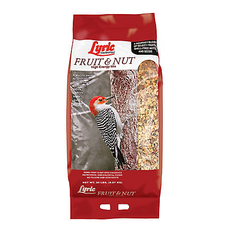 Lyric Fruit & Nut High Energy Wild Bird Mix, 20 lb.
