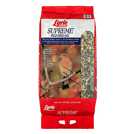 Lyric Supreme Wild Bird Mix, 20 lb.