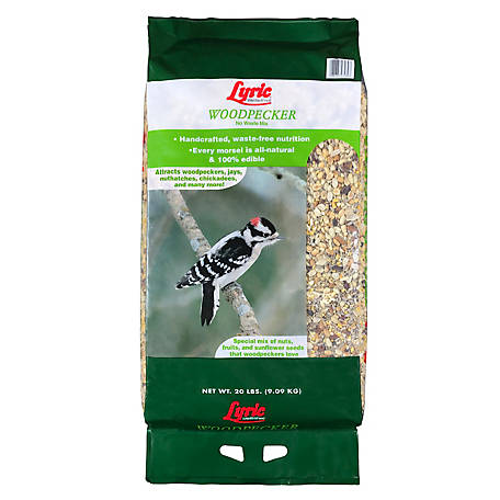 Lyric Woodpecker No Waste Wild Bird Food Mix, 20 lb.