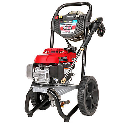SIMPSON MegaShot 2800 PSI at 2.3 GPM HONDA GCV160 with OEM Technologies Axial Cam Pump Cold Water  Gas Pressure Washer, 60784