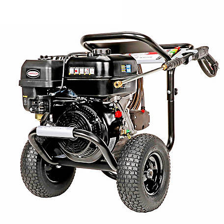 SIMPSON PowerShot 4400 PSI at 4.0 GPM SIMPSON 420cc with AAA Triplex Plunger Pump Cold Water Gas Pressure Washer, 60843