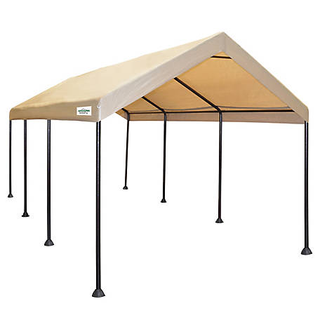 Caravan Canopy 10 ft. x 20 ft. Mega Domain Carport Kit