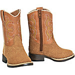 DBL Barrel Boy's Rhett Rough Out Boot